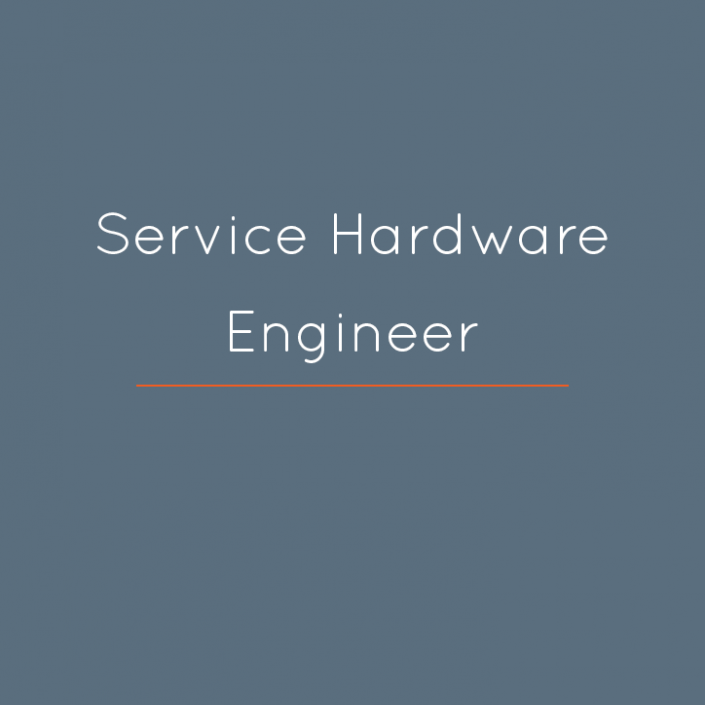 Service Hardware Engineer